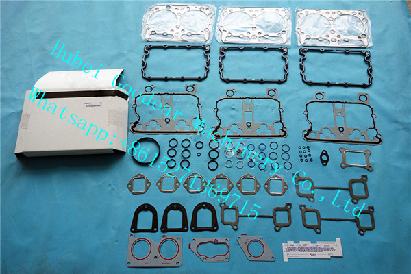 Chongqing cummins N14 diesel engine upper gasket kit 4089371