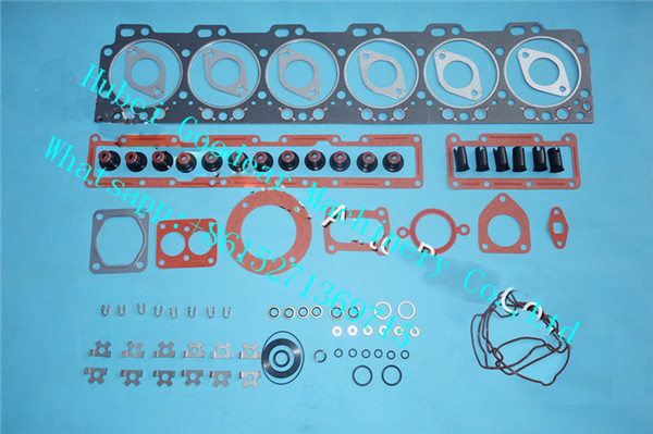 cummins for komatsu diesel engine 6D114 upper gasket kit