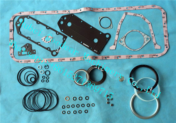 Dongfeng cummins QSL diesel engine lower gasket kit 4089979
