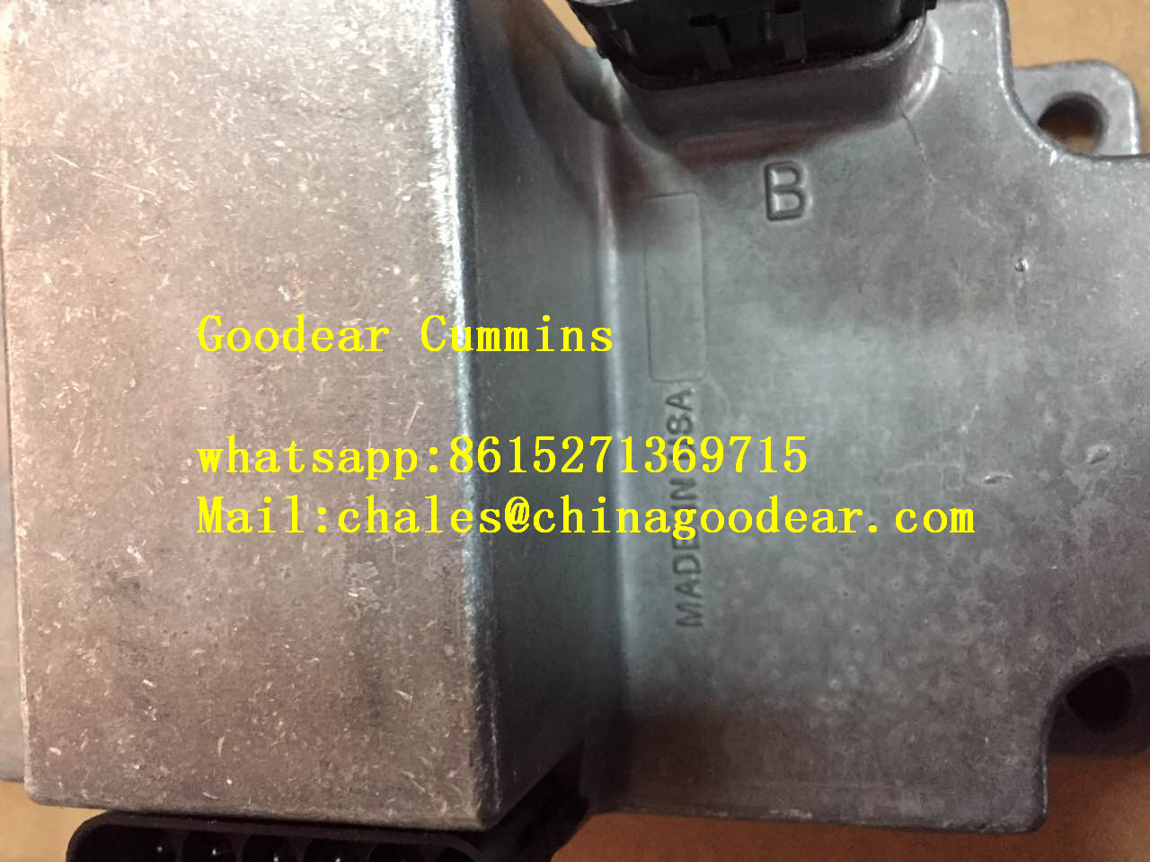 Dongfeng Cummins ISCE gas engine electronic control unit 3968025