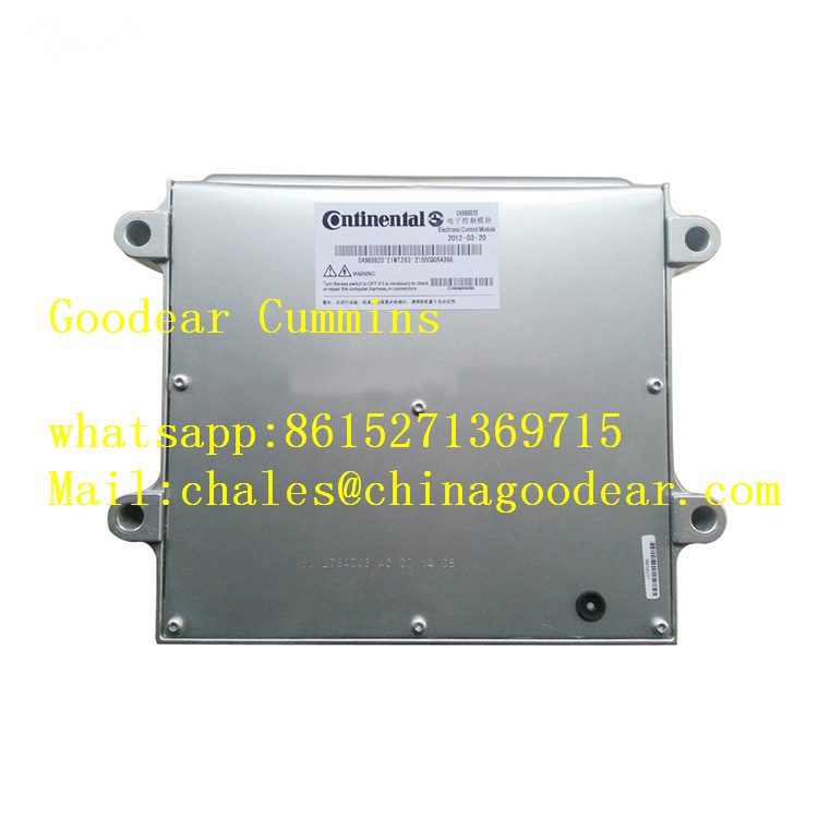 Dongfeng cummins ISLE diesel engine electronic control unit 4988820/4943133