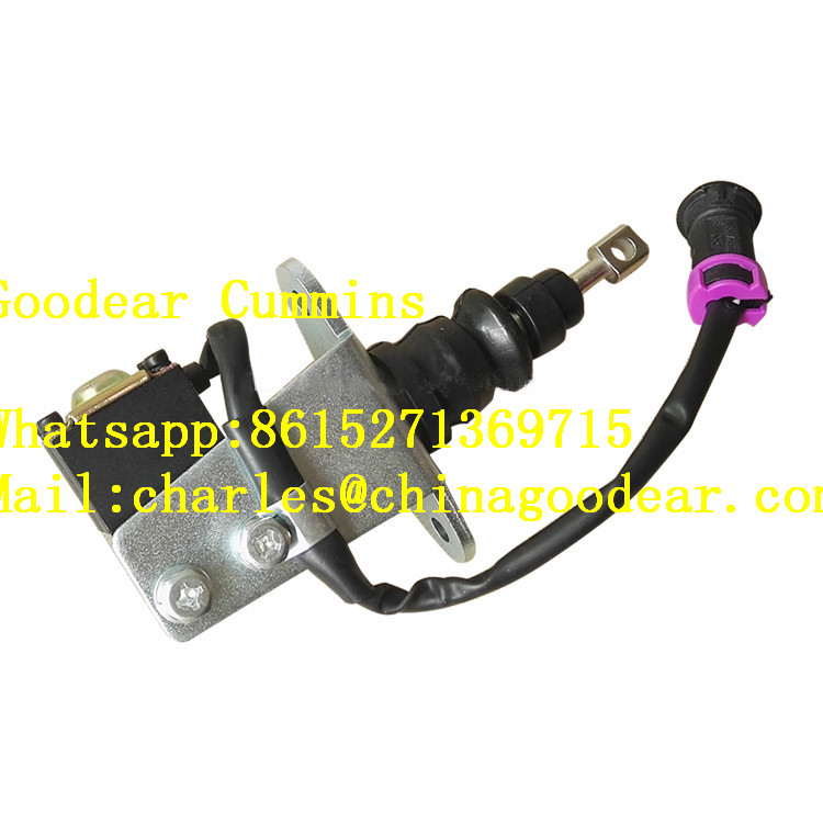Dongfeng cummins for coach engine flame-out solenoid valve 4935573