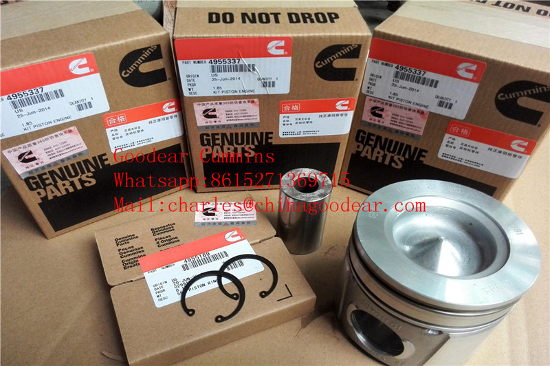 Dongfeng cummins ISDE diesel engine piston 4955337 in stock