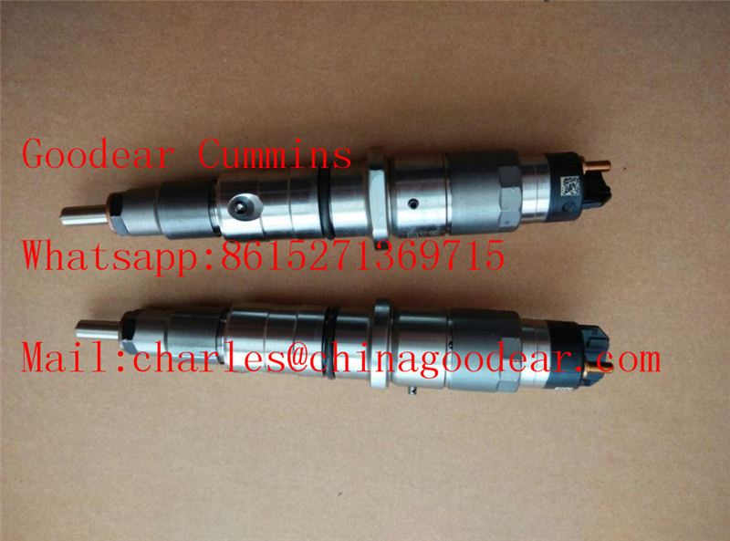 Dongfeng cummins isle diesel engine fuel injector 4942359/0445120122