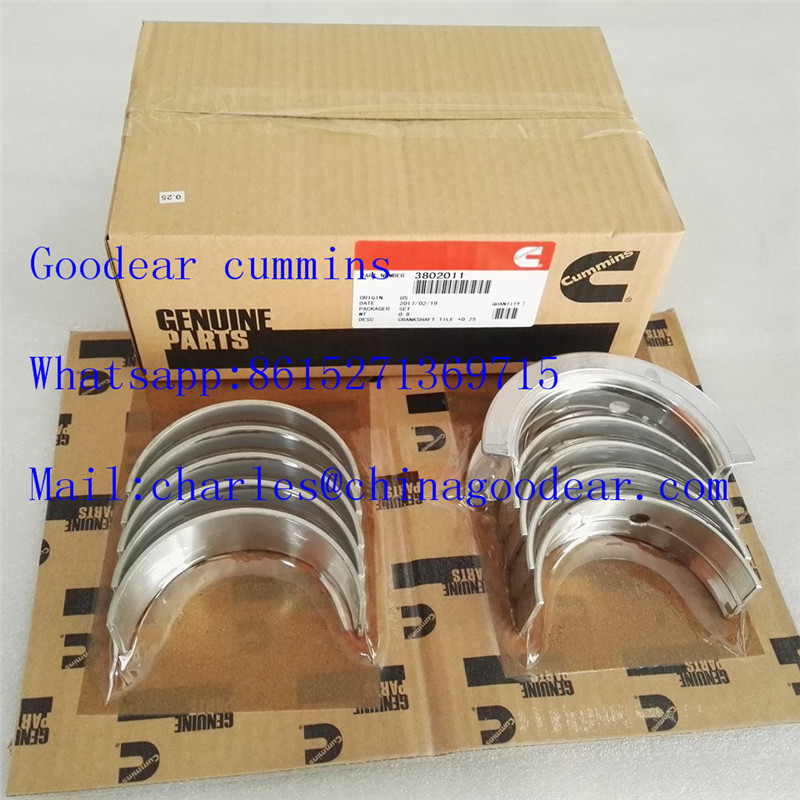 Dongfeng cummins 4bt diesel engine crankshaft bearing 3802011