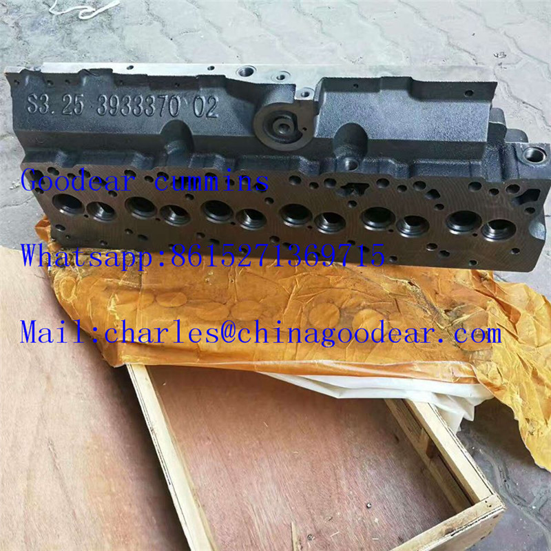 Dongfeng cummins 4BT diesel engine cylinder head 3933370,3966448