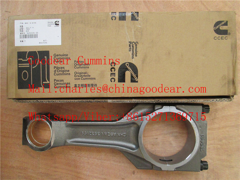 Chongqing cummins k38/k50 diesel engine connecting rod 3632225