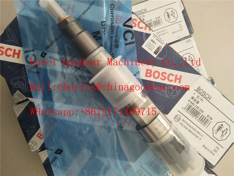 Bosch fuel injector 0445120245 for kamaz diesel engine