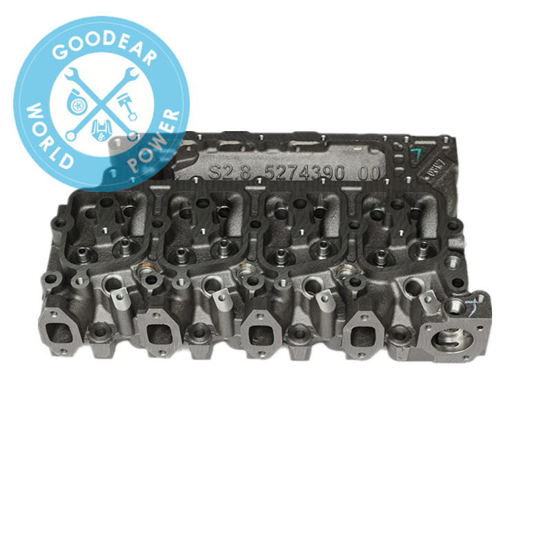 Dongfeng cummins isbe diesel engine cylinder head 5274388