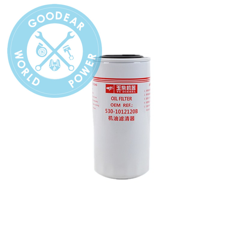 Foton truck yuchai diesel engine parts oil filter 530-1012120B